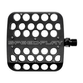 Speedplay DRILLIUM Flach-Pedale schwarz
